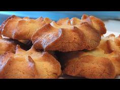 Печенье песочно-сливочное видео рецепт