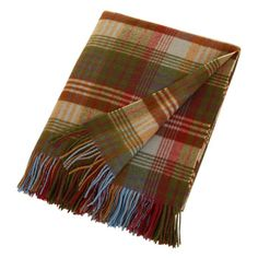 Liven up your sofa with this beautiful, rustic lambswool throw from Mulberry Home. Featuring their immensely popular Ancient Tartan design, this cosy and practical blanket with two fringed sides is th Ikea Organization, Organizing, Plaid Bedding, Mulberry Home, Best Ikea, Camping Blanket, Plaid Blanket, Tartan Pattern, Home Collections