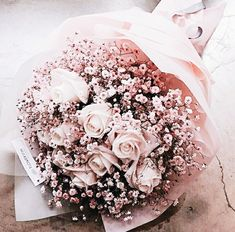 Discovered by Zai Ineb. Find images and videos about pink, flowers and rose on We Heart It - the app to get lost in what you love. Boquette Flowers, Luxury Flowers, My Flower, Fresh Flowers, Dried Flowers, Beautiful Flowers, Wedding Flowers, Beautiful Flower Arrangements, Floral Arrangements