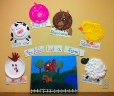 Best Farm Themed Art Activities Infants And Preschool