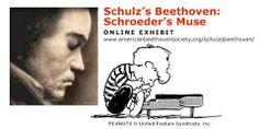 Schulz's Beethoven: Schroeder's Muse Online Exhibit http://schulzsbeethoven.blogspot.com.au/