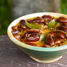 Red Bean Curry with Coconut Milk | made with Rancho Gordo Scarlet Runner Beans