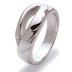 Silver LIR Swan Celtic Ring.