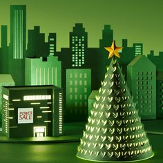 TUNAPAPER X Hyundai department store Nothern wind came here with fiercing cold however, with the 'moment' also. We call it 'Sale'! Regarding this special term of Hyundai department store, TUNAPAPER made a lovely village for you. Just like the tree glowing with adorable light, we hope your heart would be warm with love and sharing.