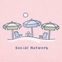 #Lifeisgood #Dowhatyoulike    Social Network Umbrellas