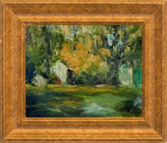 Early Autumn, Bucks County | From a unique collection of landscape paintings at https://www.1stdibs.com/art/paintings/landscape-paintings/