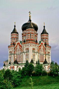 St, Panteleimon Church, Kyiv, UKRAINE MUY BELLA. QUE LA COMPRENSIÓN Y LA PAZ VUELVA A ESTA BELLA TIERRA.