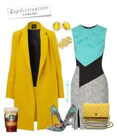 """""""Boss Chic Motivation"""" by derangeddiva on Polyvore featuring Prabal Gurung, Christian Louboutin, Chanel, Kate Spade, women's clothing, women, female, woman, misses and juniors"""
