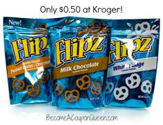 Kroger: Flipz Chocolate Covered Pretzels Only $0.50! BecomeACouponQueen.com