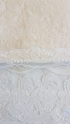 Ivory long fiber Egyptian cotton with ivory cotton Swiss lace Bath Linens, Egyptian Cotton, Bed Linen, Luxury Bedding, Fiber, Product Launch, Ivory, Lace, Collection