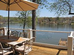 Eagles Rest- Beautifully Furnished, Perfect Views, Spacious Dock, Large HomeVacation Rental in Moneta from @HomeAway! #vacation #rental #travel #homeaway