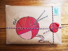 A gallery of mail-art created by me when I was just starting out. Mostly snail-mail envelopes on kraft paper, painted in gouache and watercolour. Pen Pal Letters, Letter Art, Letter Writing, Envelope Art, Envelope Design, Wrapping Ideas, Mail Art Envelopes, Address Envelopes, Art Postal