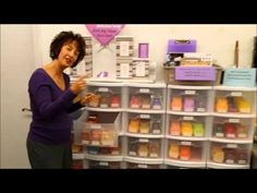 Spice Dawn shows her compact bar storage area for booths/events. - YouTube