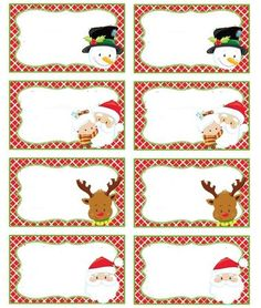 santa hat template for name tag creation from printabletreats com