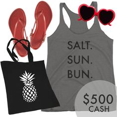 Enter to win these Summer Essentials + $500 Paypal Cash!