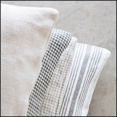 Canal Street (lescreations.com): mix #linen #soft #monochrome #interior #interiordesign #home #homedesign #homedecor #decor #decoration #homesweethome #lovely #cute #textiles #textildesign #fabric #pattern #texture