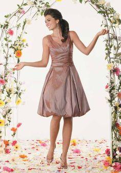 Fashionable Pick-Ups A-Line Floor-Length Strapless Bridesmaid Dress at Storedress.com