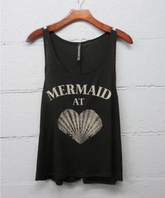 """""""Mermaid at Heart"""" *Only avaible in Black"""