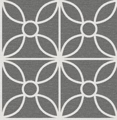 Shop Brewster Home Fashions Brewster Wallcovering Eclipse Savvy Black Geometric Wallpaper at Lowe's Canada. Find our selection of wallpaper at the lowest price guaranteed with price match. Geometric Wallpaper Prints, Tile Wallpaper, Embossed Wallpaper, Grey Wallpaper, Wallpaper Panels, Wallpaper Samples, Wallpaper Roll, Pattern Wallpaper, Wallpaper Warehouse