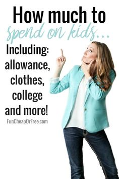 How much to spend on kids! | Allowance, clothes, college, etc | Q&A Tuesday - Fun Cheap or Free #personalfinance #kidsfinance #allowance