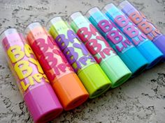 Baby Lips Naturals Collection. Not really a fan of the neon collection. /: Maybe that's just because I don't have it. Hahaha