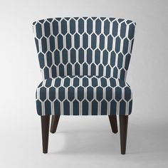 Veronica Taper Leg Chair - Prints | west elm - $466 (through 2/17) - 8-10 weeks for delivery