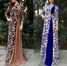 Batik Fashion, Abaya Fashion, Muslim Fashion, Women's Fashion Dresses, Stylish Dress Designs, Stylish Dresses, Casual Dresses, Lace Dress Styles, Sleeves Designs For Dresses
