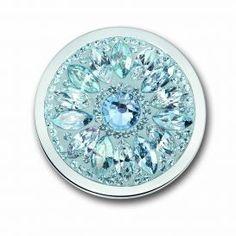 Mi Moneda Dalia Ice Blue large coin #MiMoneda