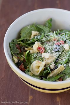 Herb Chicken Tortellini Salad - Taste and Tell