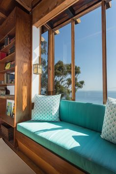 The redwood-sheathed residence has five bedrooms and is available for the first time since Kameon also designed the Sunset Strip hotel now known as the Standard. Malibu For Sale, Sunset Strip, Outdoor Furniture, Outdoor Decor, Midcentury Modern, Mid Century, House Design, Herb, Bedroom