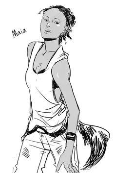 Maia Roberts by Cassandra Jean