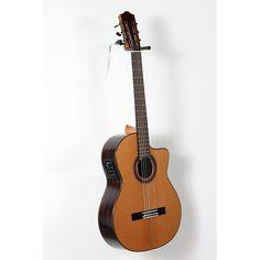 Cordoba C7-CE CD Acoustic-Electric Nylon String Classical Guitar Natural 888365934051