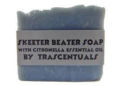 Skeeter Beater Soap with Citronella Essential Oil To Ward Off Mosquitoes and Other Biting Insects