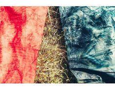 Hoffman 1895 Bali Watercolors soaking up the Balinese sunshine. #hoffmanfabrics