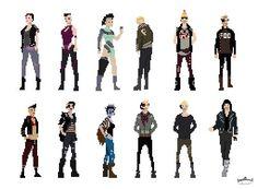 #pixelart   #Character design