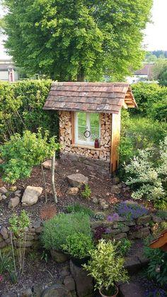 (notitle) - Belinda - GartenDekore - The most beautiful garden decor Garden Deco, Gnome Garden, Garden Pots, Garden Trellis, Garden Fencing, Design Jardin, Garden Design, Back Gardens, Outdoor Gardens