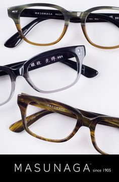 handmade in Japan - custom measured alternative fit available on every frame. Great for Asian profiles/small bridges.