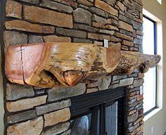 Wood Fireplace Mantels Shelves | Mantels for Fireplace, Rustic Mantle, Wooden Mantle, Wooden Mantel