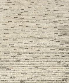 naturale ribbed wool rug