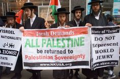 Neturei Karta is a group of Orthodox Jews which refuses to recognise the authority of the State of Israel, a belief stemming from a statement in the Talmud that Jews shall not use human force to bring about the establishment of a Jewish state.