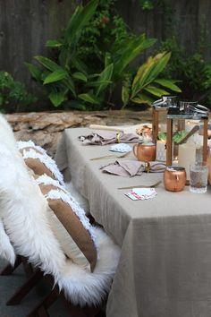 Enviable Outdoor Table Settings