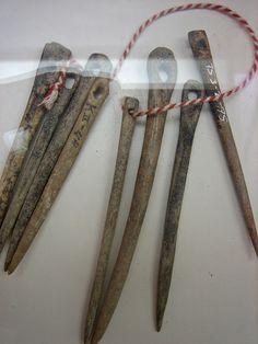 Bone needles  Museum Dorestad