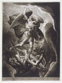 Fall of Satan   Barry, James   V&A Search the Collections