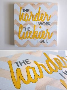 chevron pattern for wedding signs