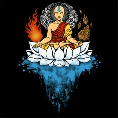 ENLIGHTENMENT T-Shirt ~ $10 Avatar: The Last Airbender tee