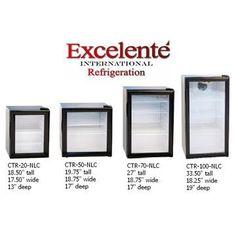 Counter Top Display Refrigerator / Mini Cooler / Table Top Fridge / Merchandising Cooler #GraniteCounterTops