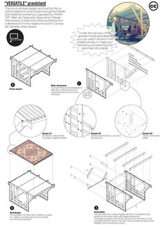 El Campo de la Cebada, muebles detalle