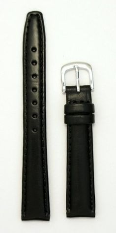Ladies' Genuine Italian Oil Tanned Leather Watchband Black Short 12mm Watch Band: Watches: Amazon.com- I need a short band for my tiny wrists!
