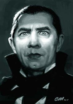 Some quick portraits of three of the stars of the old Universal horror movies. Bela Lugosi as Dracula; Colin Clive as Dr Henry Frankenstein. Retro Horror, Vintage Horror, Horror Art, Scary Movies, Old Movies, Lugosi Dracula, Estilo Tim Burton, Tv Movie, Horror Movie Characters