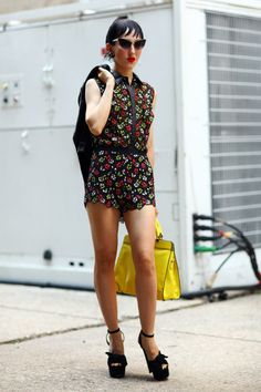 #fashion-ivabellini Floral Michelle Harper   Street Fashion   Street Peeper   Global Street Fashion and Street Style